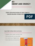 Heat Pump calculation
