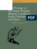George H. van Kooten, Jacques van Ruiten The Prestige of the Pagan Prophet Balaam in Judaism, Early Christianity and Islam.pdf