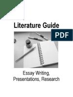 Literature Guide 2015