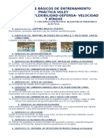 VOLEY EJERCIOS PARA PRINCIPIANTES