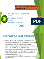Ppt-cropwat Analisis de La Papa