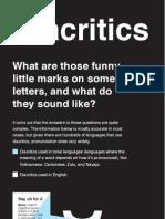 Week #2 - Diacritics
