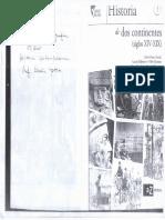 Historia de Dos Continentes (S. XIV-XIX)