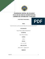 Grupos de Clasificación Para Aplicación de Las Niif