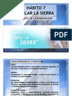 7 Habitos - 7 Afilar La Sierra