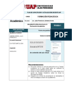 Portafolio Docente Universitario- Filial Ayacucho