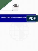 Lenguajes de Programacion Web