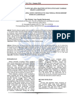 205071683 Penentuan Gen Penyandi 16s Rrna Bakteri Kitinolitik Dari Tambak Udang Lamongan Determining of 16s Rrna Gene Chitinolytic Bacterial From Shrimp Pond In