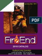 Fire End Croker 2016