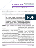 Physiological Basis of Alternative Therapies to Alleviate Sleepdisturbances 2167 0277 1000221