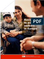 Assistance to asylum seekers in Europe - A guide for National Red Cross and Red Crescent Societies