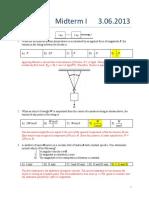 physics M1 Solutions