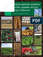 Nutrient Application Guidelines For Field, Vegetable & Fruit Crops Wisconsin (A2809)
