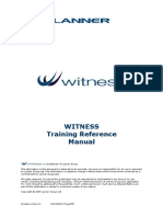 WITNESS Reference Manual 24-09-2009