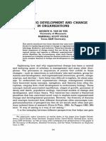 Typologie du changement d'Andrew Van de Ven et Marshall Scott Poole.pdf