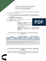 modelos explicativos esquizofrenia
