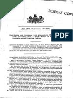 Patent Jablochkoff