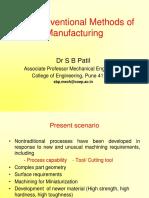 Introduction- Non Conventional Methods-SBP - Copy