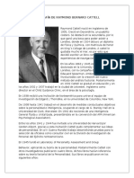 Biografía de Raymond Bernard Cattell