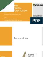 Presentasi Referat - Deteksi Dan Diagnosis Awal Sepsis Neonatorum