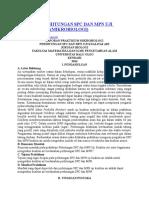Laporan Perhitungan Spc Dan Mpn Uji Kualitas Air