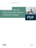 Cisco and Citrix Mobility White Paper