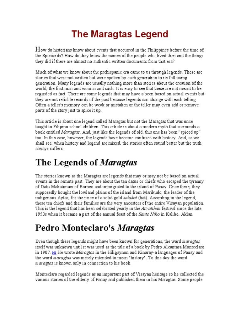 The Maragtas Legend | Philippines