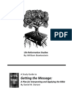 Getting the Message Study Guide