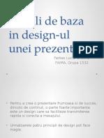 Aplicatie 4 - Reguli de Baza in Design-ul Unei Prezentari