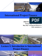 Lecture_1_Introduction to International Project Finance