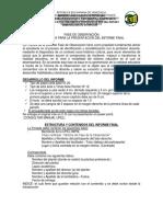 Estructura Del Trabajo Fase de Observación