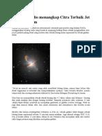 Teleskop Radio Menangkap Citra Terbaik Jet Lubang Hitam