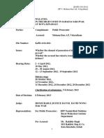 Case - PP v Mohana