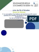 Soutenance Mémoire Audit Des Comptes Consolidés Sous IAS