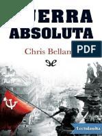 Guerra Absoluta - Chris Bellamy