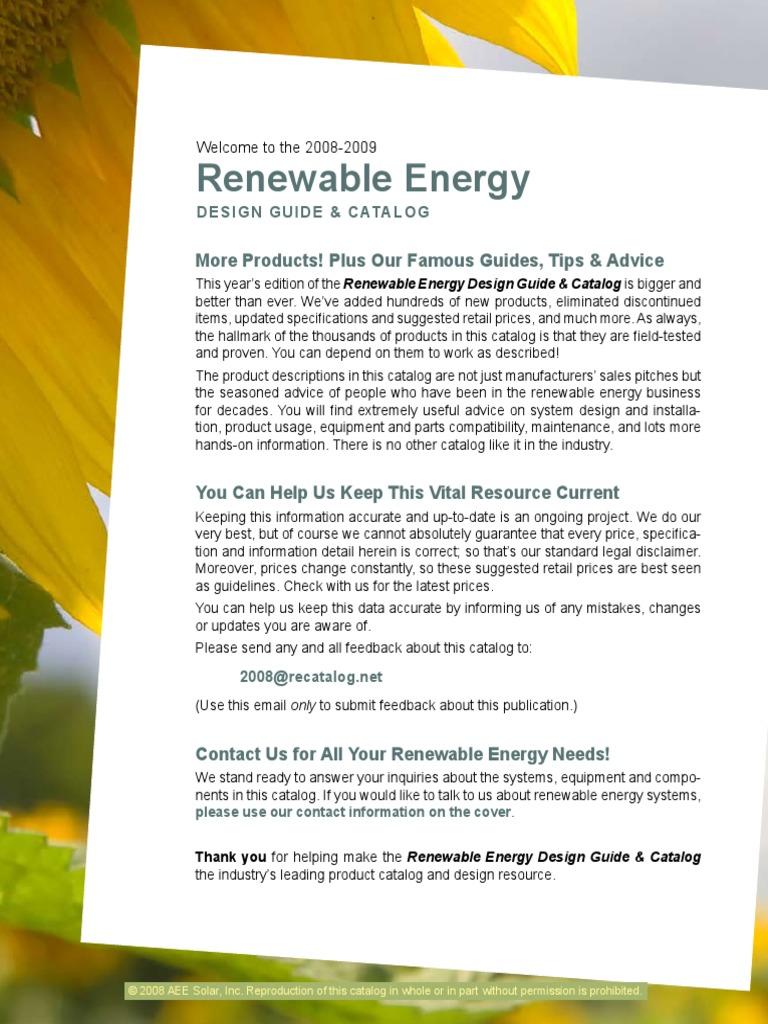 Aee Solar Catalog Low Refrigerator Photovoltaics Powerflex 400 Wiring Diagram