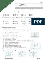 Relacion Tema 8. Funciones - 4 ESO Aplicadas
