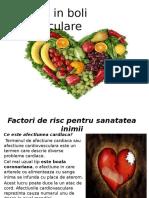 Nutritia in Boli Cardiovasculare- 18 Mai 2016, Sem. 2, 2016