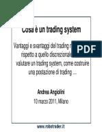 Come selezionare un trading system