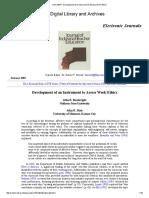 JITE v39n4 - Development of an Instrument to Assess Work Ethics.pdf