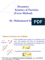 Ch.2 Kinetics of Particles (Force Method)