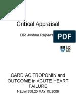Critical Appraisal v2