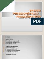 184551404 Ensaio Pressiometrico Pressiometros