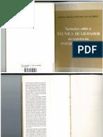 Variações Sobre a Técnica de Gravador no Registro da Informação Viva - Maria Isaura Pereira de Queiroz