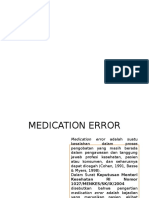 Jenis Medication Error