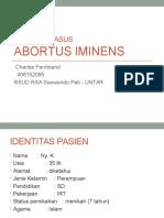 abortus iminens