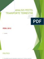 Analisis Pestel Transporte Terrestre