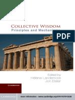 Hélène Landemore, Jon Elster,  Collective Wisdom
