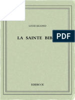 Segond Louis - La Sainte Bible