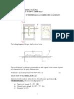 DESIGN OF INPUT GEAR-SHAFT-Exampler (1).doc